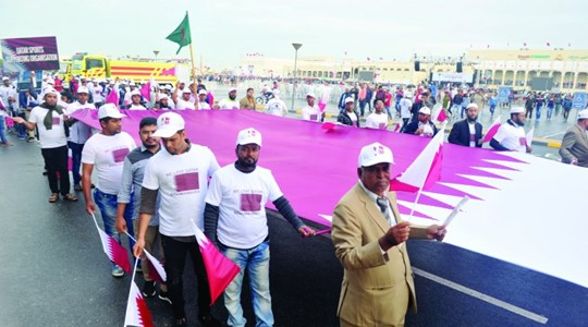 Expat communities celebrate National Day with colourful parades