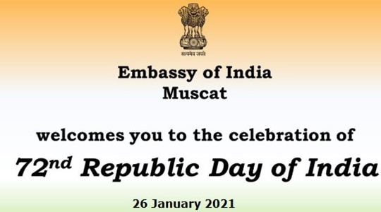 72 Republic Day of India - Embassy of India